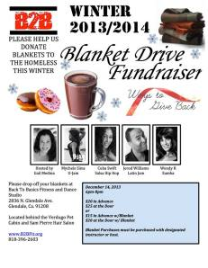 Join myself, Mychele Sims, Cuba Swift, Wendy Reateagui and our host, Gail Medina for our Blanket, Hot Chocolate and Donut Drive, Saturday (December 14th from 6:00PM-8:00PM).