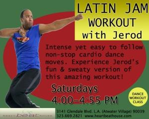 Latin Jam Workout with Jerod