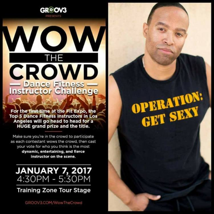 Come join Jerod Williams at the Los Angeles Convention Center at the FitExpo for the WOW The Crowd Contest.